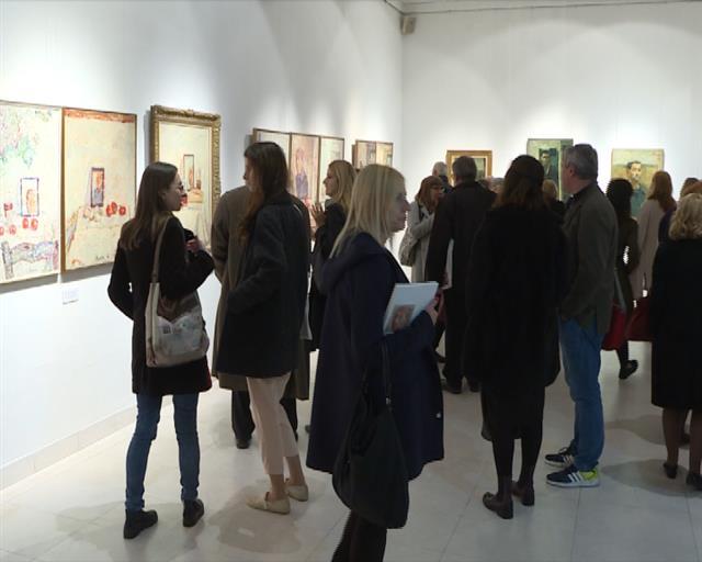 U Galeriji SANU otvorena izložba dela Marka Čelebonovića