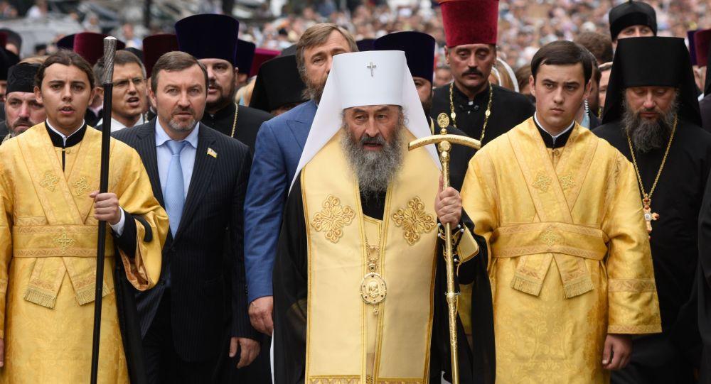 Pristalice autokefalnosti napale rezidenciju mitropolita Ukrajinske pravoslavne crkve