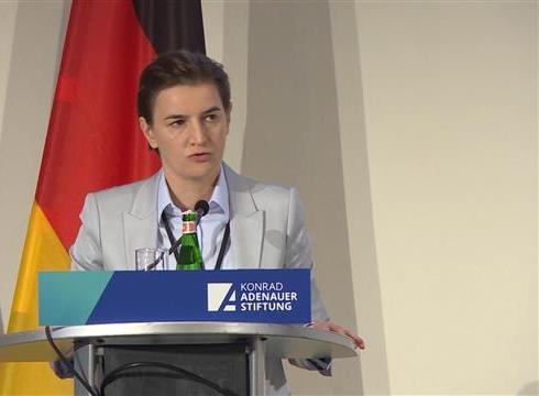 Brnabić: Srbija nije potpisnica Dablinskog sporazuma
