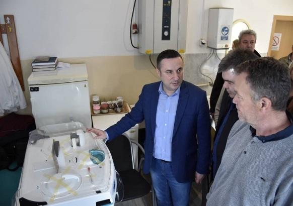 Laboratorijska oprema za Dom zdravlja u Donjoj Gušterici