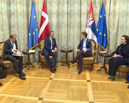 Samuelsen: Danska podržava evropsku perspektivu Srbije