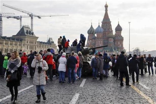 Rusija obeležila godišnjicu parade iz 1941. godine