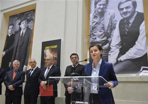 Brnabić: U projekte kulture naredne godine 20 miliona evra