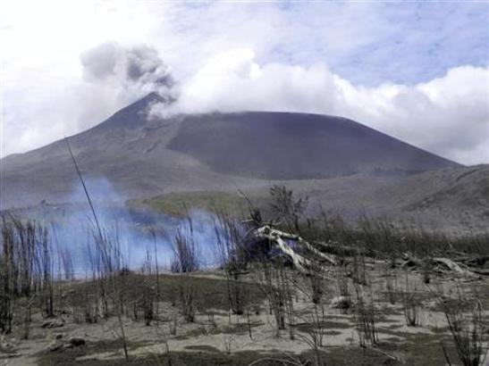 Erupcija vulkana u središnjoj Indoneziji