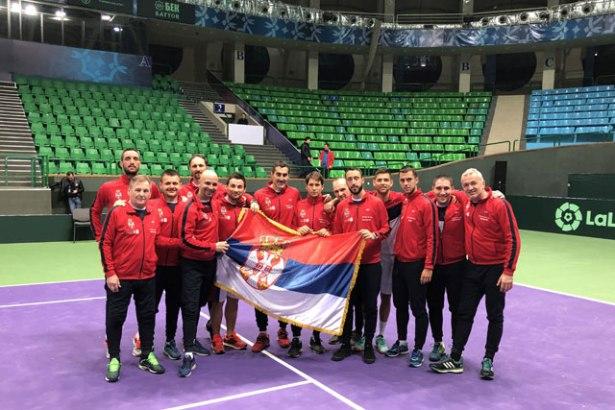 Dejvis kup: Srbija u grupi sa Francuskom i Japanom