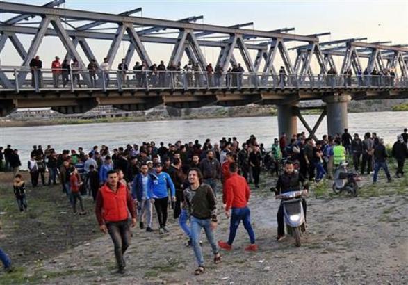 Irak: Potonuo trajekt na Tigru
