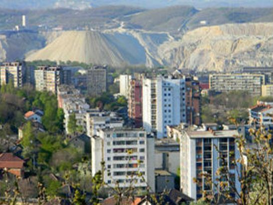 Bor, pripreme terena za industrijsku zonu i stanove