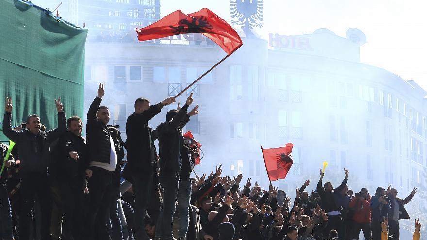 Albanska opozicija i danas na ulicama Tirane
