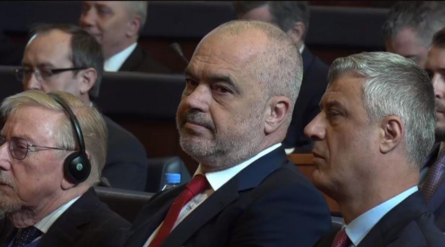 Rama jedini strani zvaničnik na svečanoj sednici kosovskog parlamenta