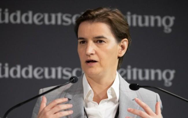 Brnabić novinaru Dojče velea: Nije diplomatski da vi pričate u ime EU