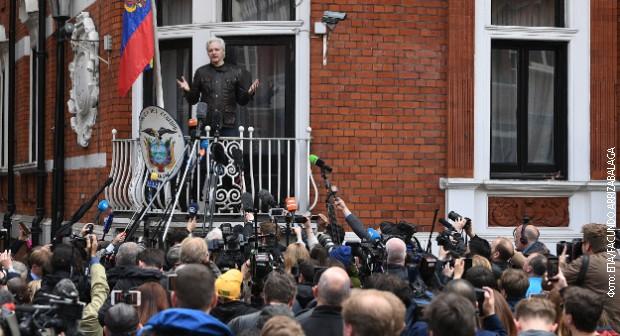 Asanžu naređeno da ne ugrožava diplomatske interese Ekvadora