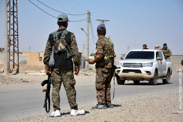 Opkoljeni džihadisti u poslednjem uporištu ID, koriste civile kao