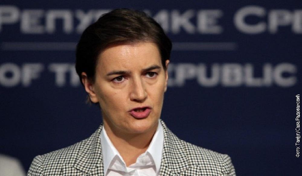 Brnabićeva za Si-En-En: Srbija se brzo menja i to u pravom smeru