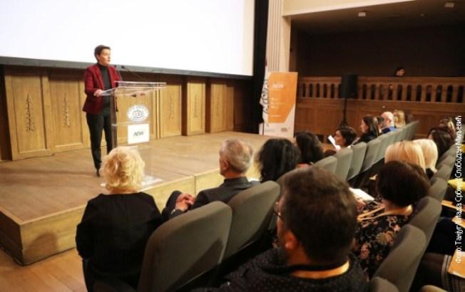 Brnabić: Stvoriti društvo zasnovano na znanju i inovacijama