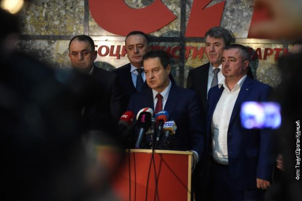 Dačić zadovoljan rezultatima SPS-a na lokalnim izborima