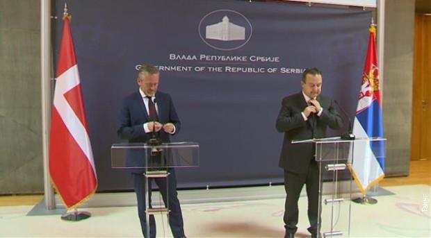 Danska podržava reforme i nastavak dijaloga Beograda i Prištine