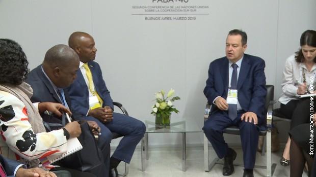 Dačić: Mozambik može uvek da računa na našu pomoć
