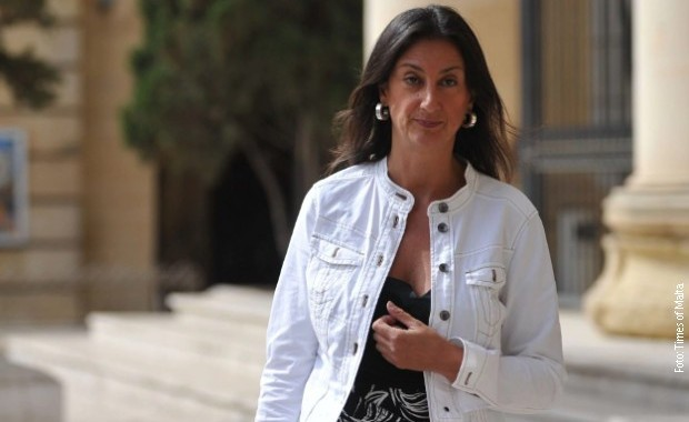 Identifikovana tri organizatora ubistva malteške novinarke