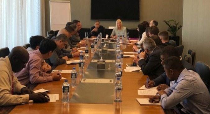 Dubai, sastanci uoči Generalne skupštine Interpola