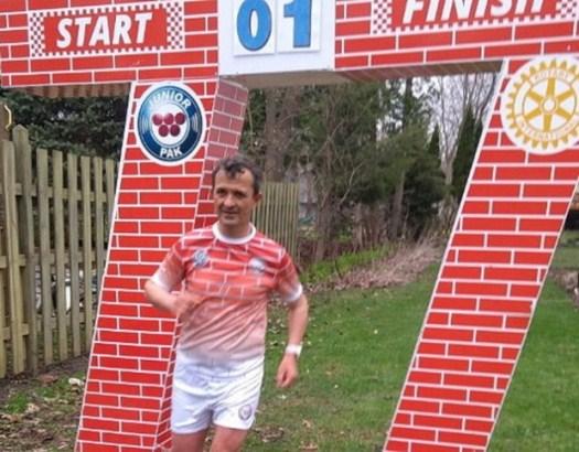 Goran trči u Čikagu, 77 maratona za 77 dana