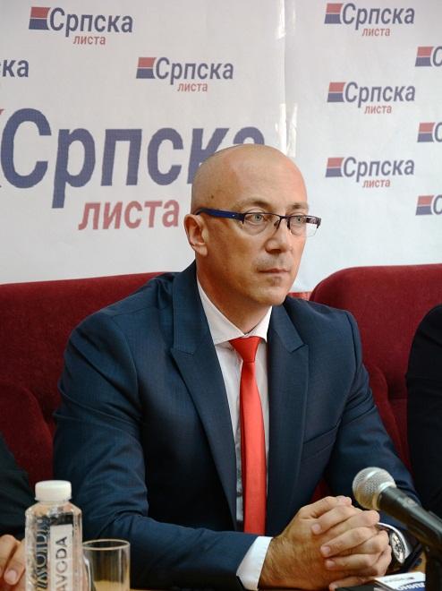 Rakić:Srpsko stanovništvo na Kosovu i Metohiji uznemireno