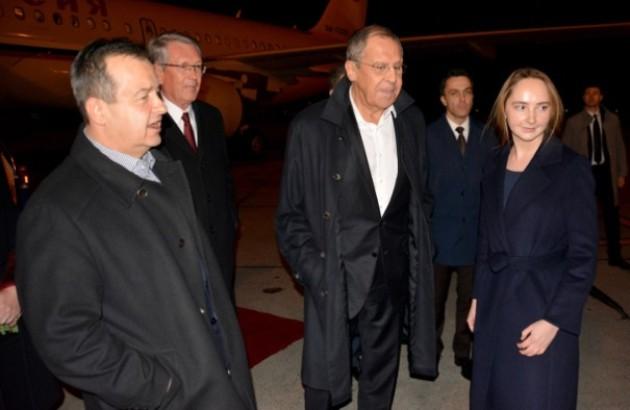 Lavrov stigao u Beograd