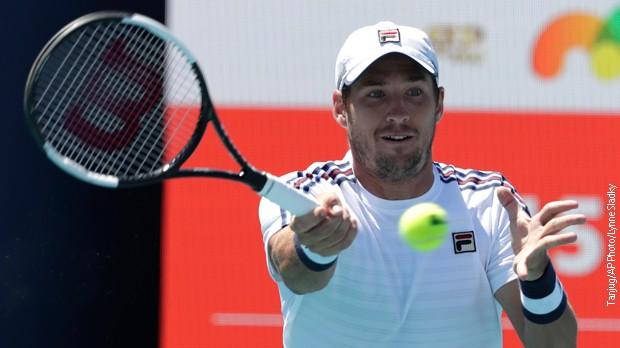 Lajović pobedio Nišikorija za treće kolo u Majamiju
