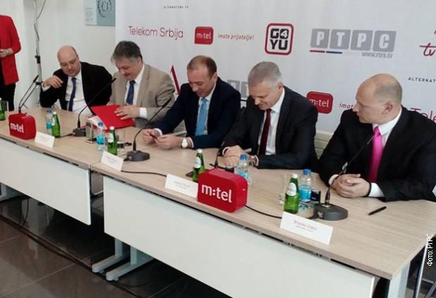 Potpisan ugovor između RTRS-a i Telekoma Srbija