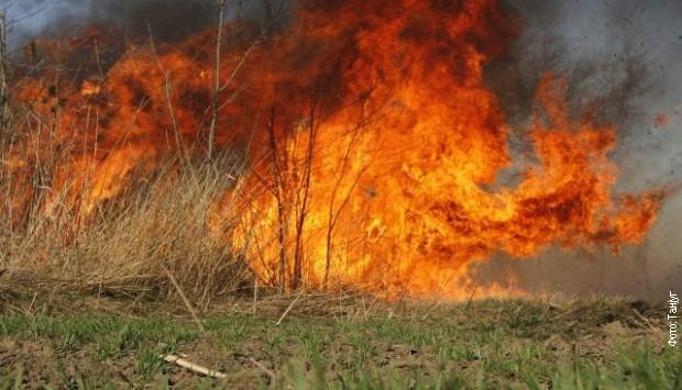 Požar u blizini Đurđevih stupova
