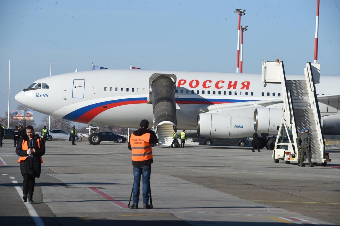 Sleteo avion s ruskim privrednicima