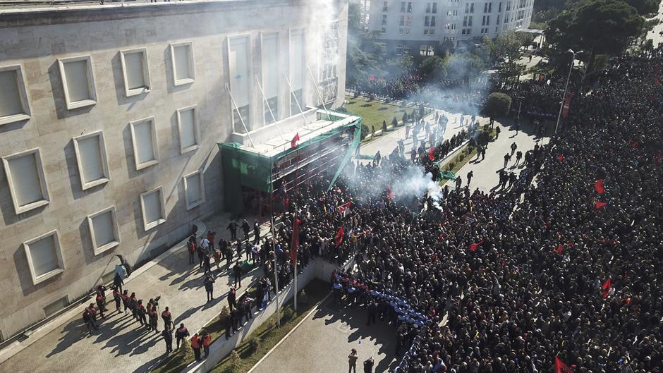 Još jedan antivladin protest u Tirani