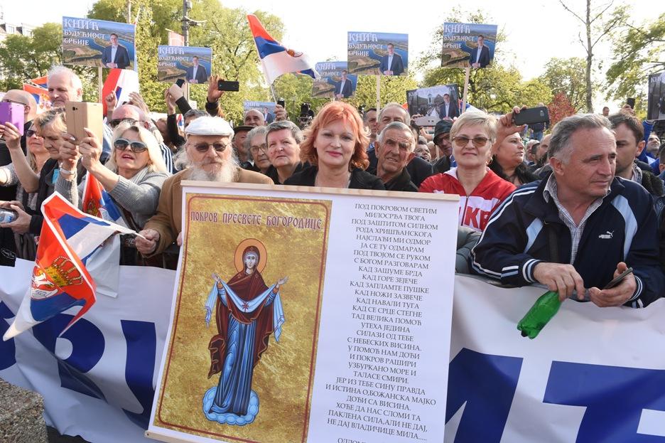 Užičanka za Srbe sa KiM spremila poklon - ikonu