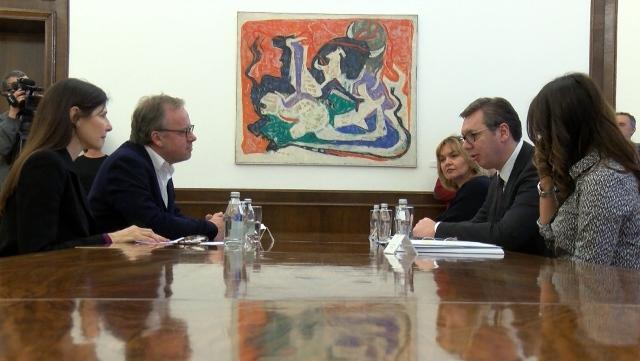 Vučić se sastao sa predstavnicima Reportera bez granica