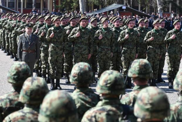 Vulin i vojnici položili zakletvu