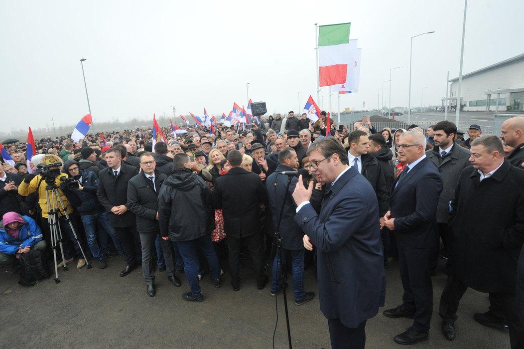 Vučić: Prisajedinjenje najvažniji događaj u poslednjih 100 godina