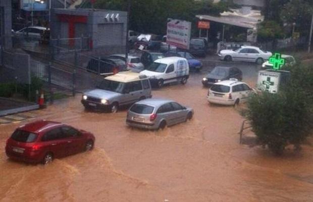 Nevreme u Crnoj Gori i Hrvatskoj, poplavljene ulice i objekti