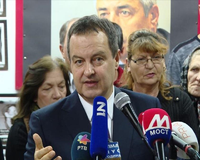 Dačić: Kosovski Albanci nemaju čemu da se raduju