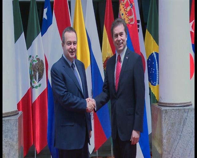 Dačić i šef diplomatije Paragvaja o unapređenju dijaloga