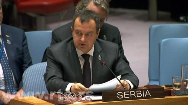 Dačić u SB UN: Ništa pozitivno od poslednje sednice