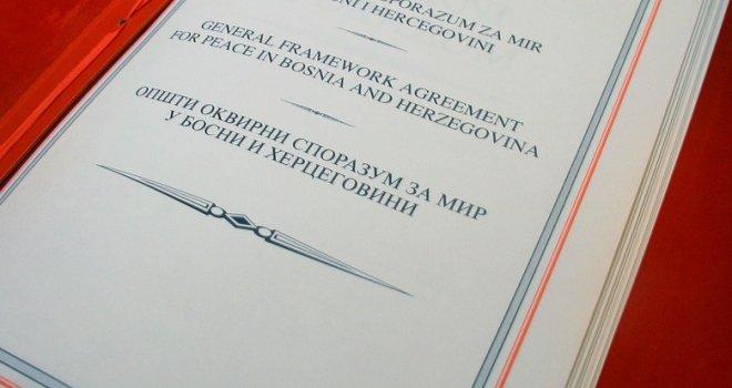 Pre 23 godine potpisan Dejtonski sporazum