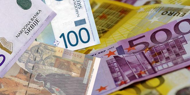 Dinar u usponu, kurs 118,2720