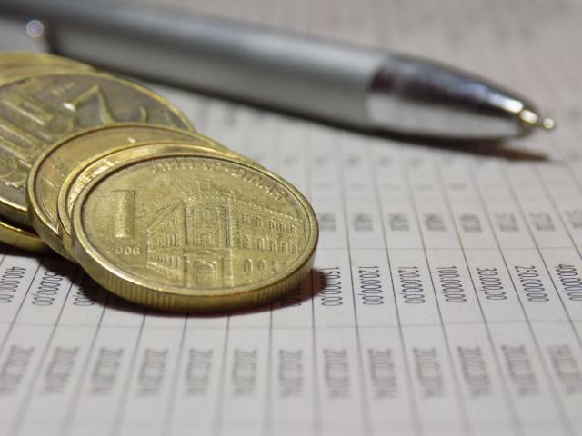 Dinar stabilan: NBS kupila 15 miliona €