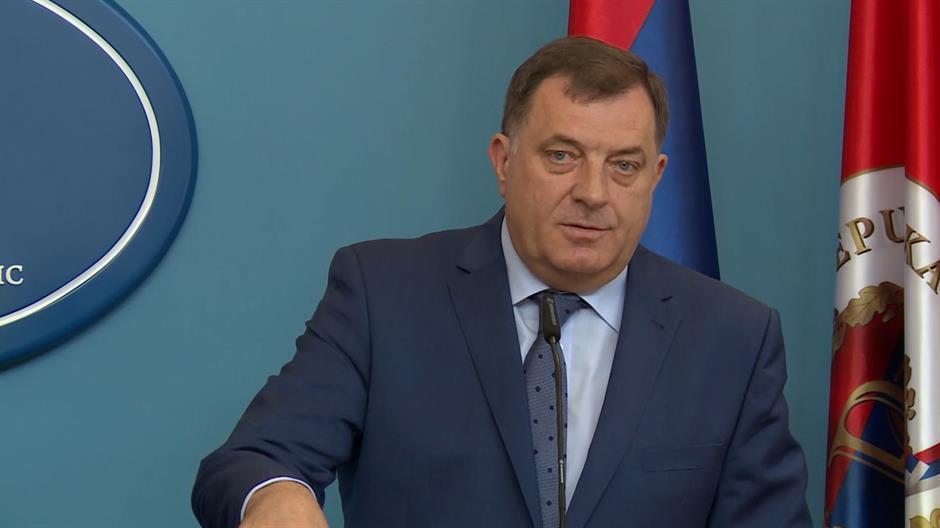 Dodik odlikovao deputata ruske Dume Pavela Dorohina