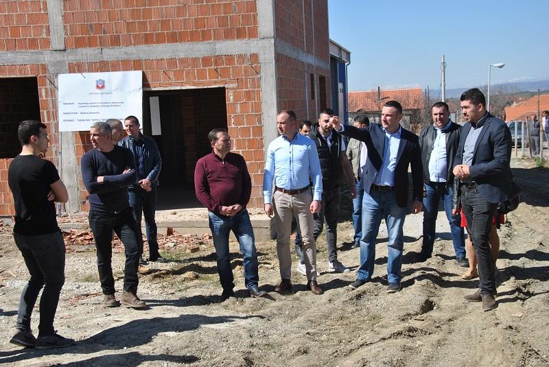 Popović: Izgradnja zgrada u Donjoj Gušterici po planu