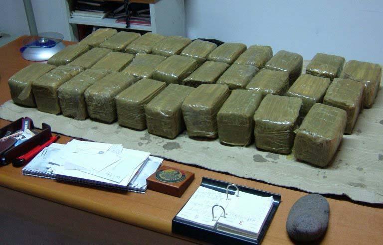 Krit, zaplenjena droga vredna više od 100 miliona evra