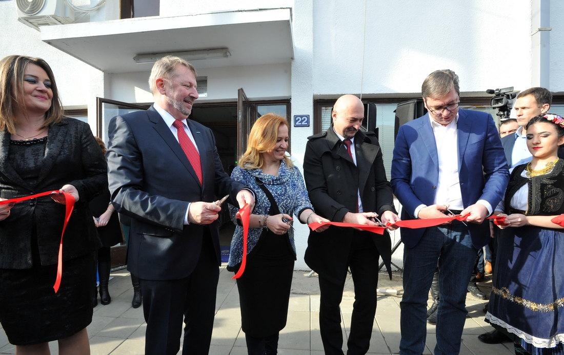 Otvorena fabrika kablova za auto-industriju u Trsteniku