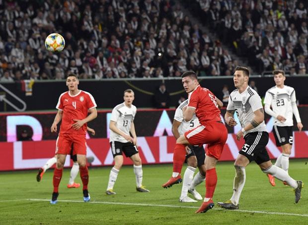 Srbija remizirala sa Nemačkom, gol Jovića
