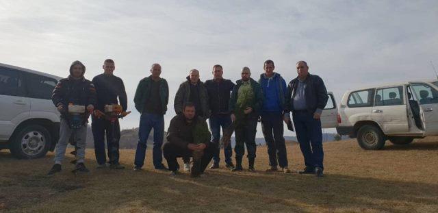 Akcija pošumljavanja u opštini Zvečan