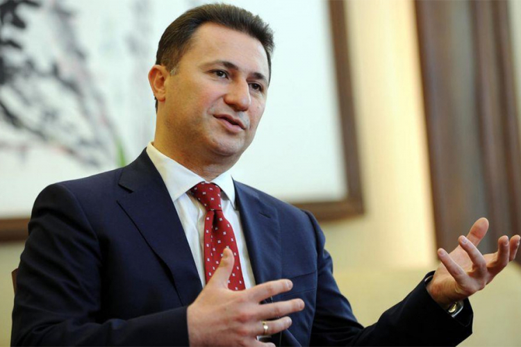 Poternica za Gruevskim zakasnila dva dana