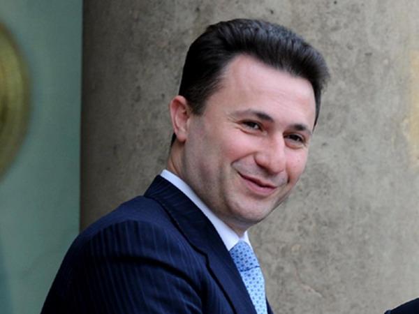 Raspisana poternica za Gruevskim